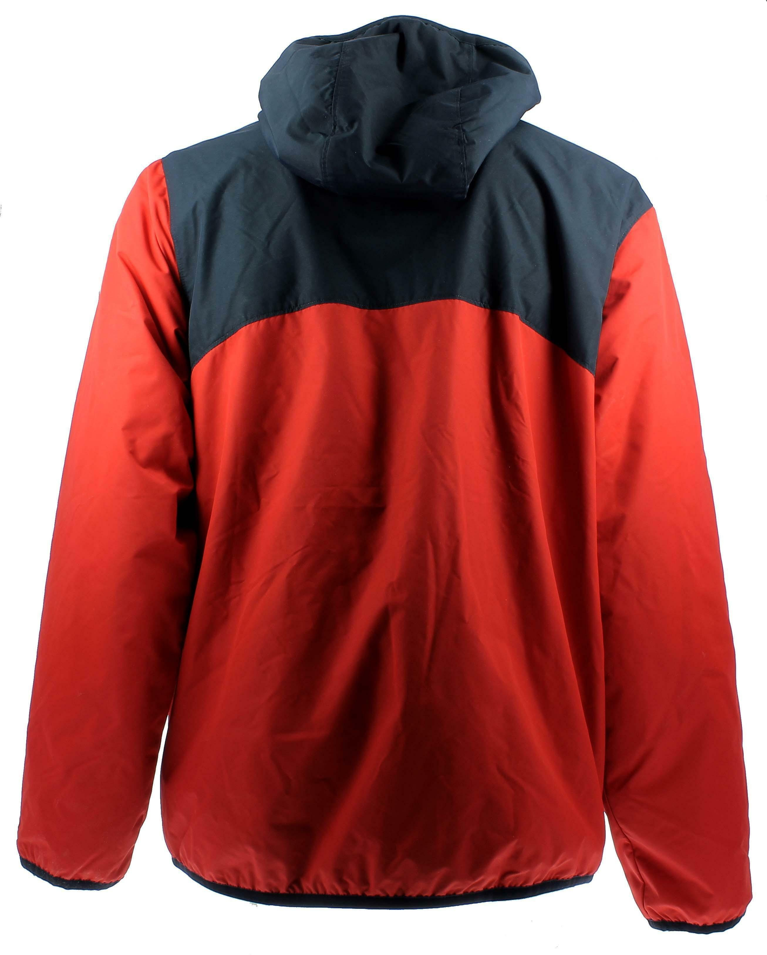 nike nike flece lined jacket giubbino termico uomo rosso blu