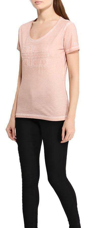 napapijri napapijri shove tea t-shirt donna rosa