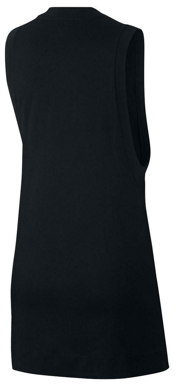 nike nike sportswear jersey w vestito donna nero ah9972010