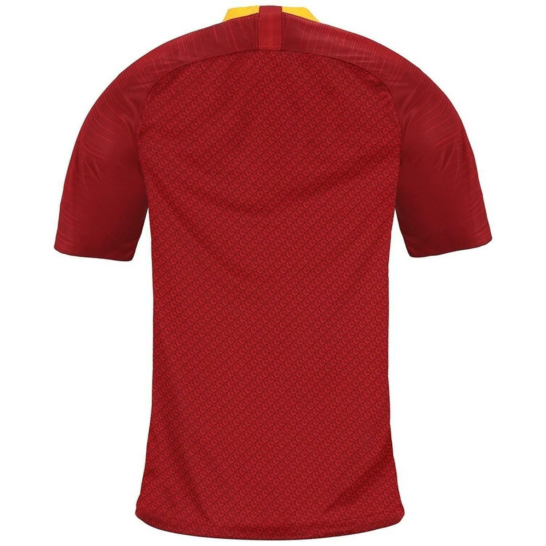nike nike roma t-shirt gara home 2018/2019 bambino rossa 919020677