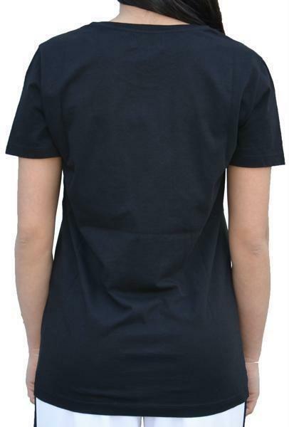 converse converse star t-shirt donna nera 7386a01