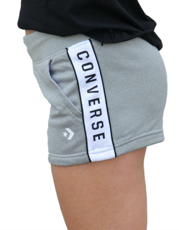 converse converse pantaloncini donna grigi 5764a01