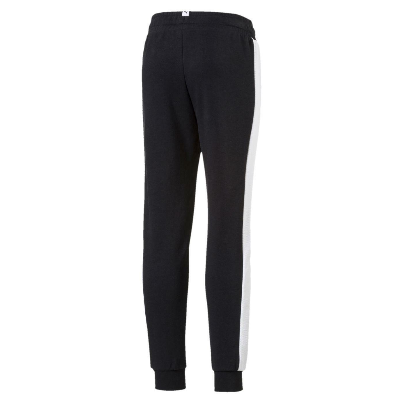 puma puma style sweat pantaloni tuta neri 59497801