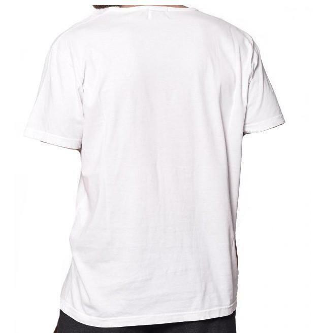 converse t-shirt uomo bianca