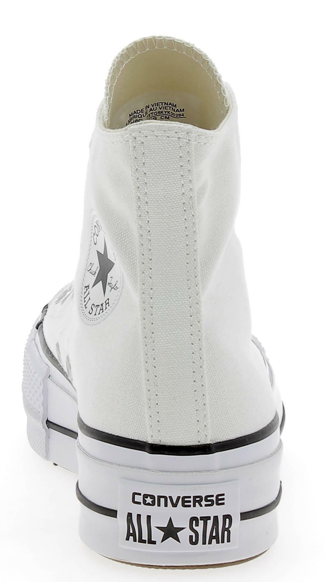 converse converse ctas lift hi platform scarpe sportive donna bianche