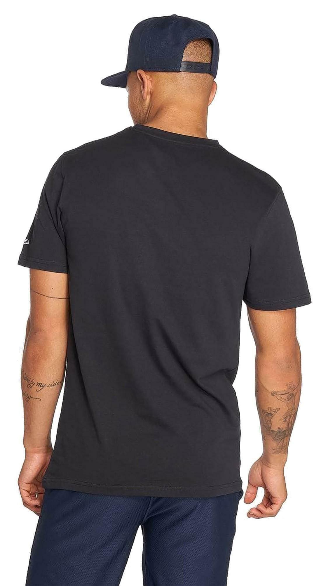 new era new era team apparel infill logo t-shirt uomo blu 11569445