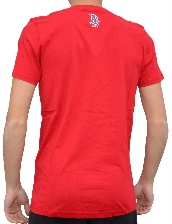 new era new era team app tee t-shirt uomo rossa