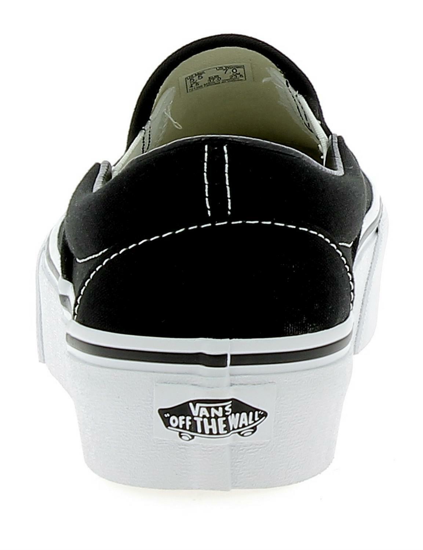 vans vans classic slip-on platform scarpe sportive donna nere vn00018eblk