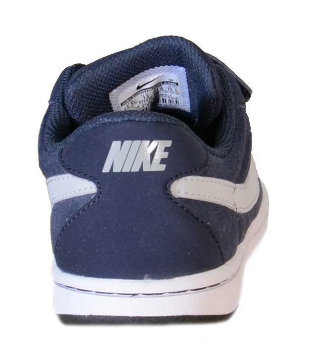 nike nike brutez plus (ps) scarpe bambino blu pelle strappi 535449