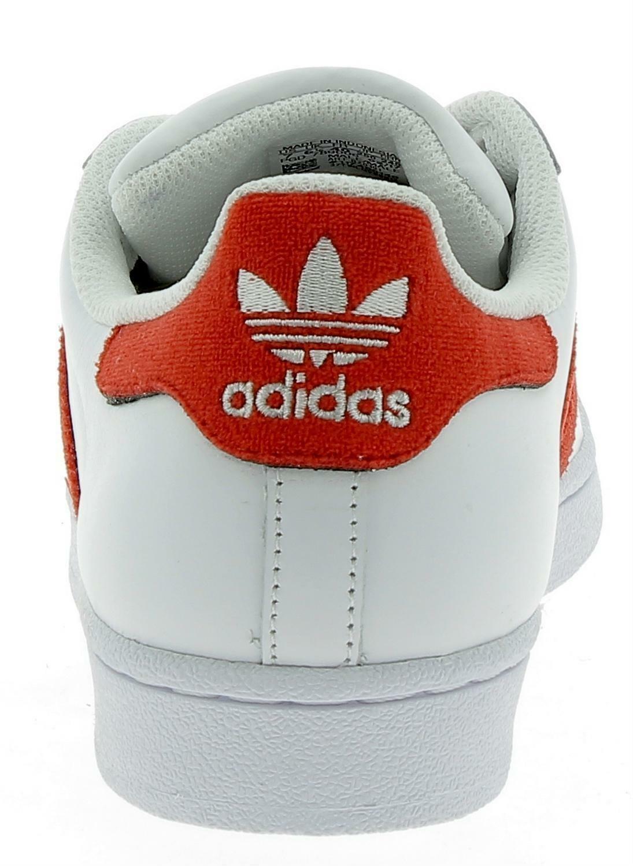 adidas adidas superstar scarpe sportive pelle unisex bianche