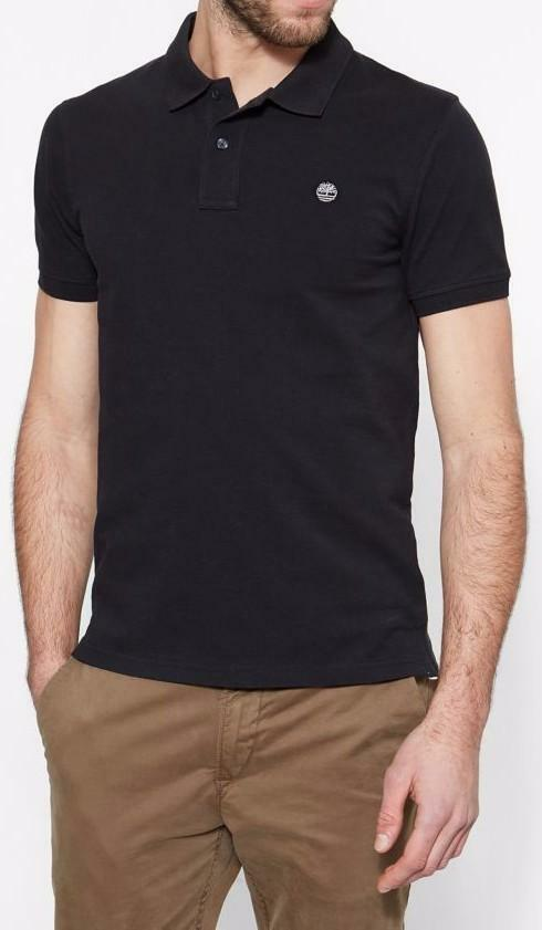 timberland timberland ss slim millers river polo uomo nera slim fit