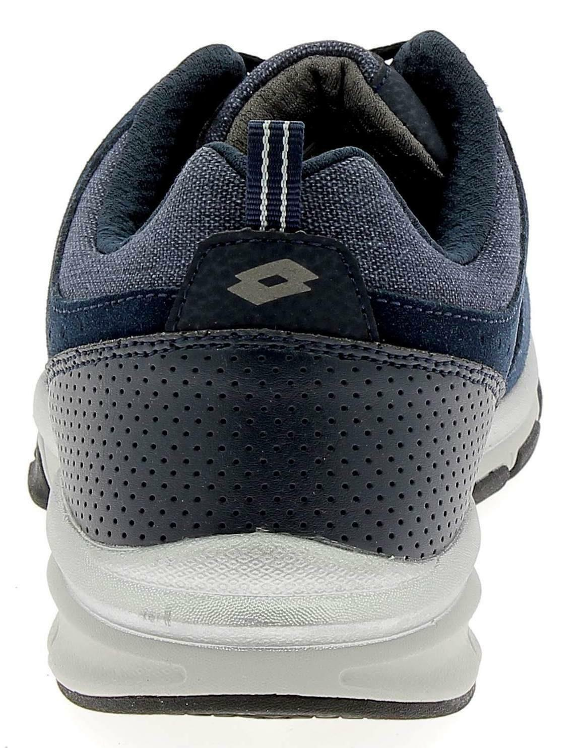 lotto lotto grande iv cvs scarpe sportive uomo blu
