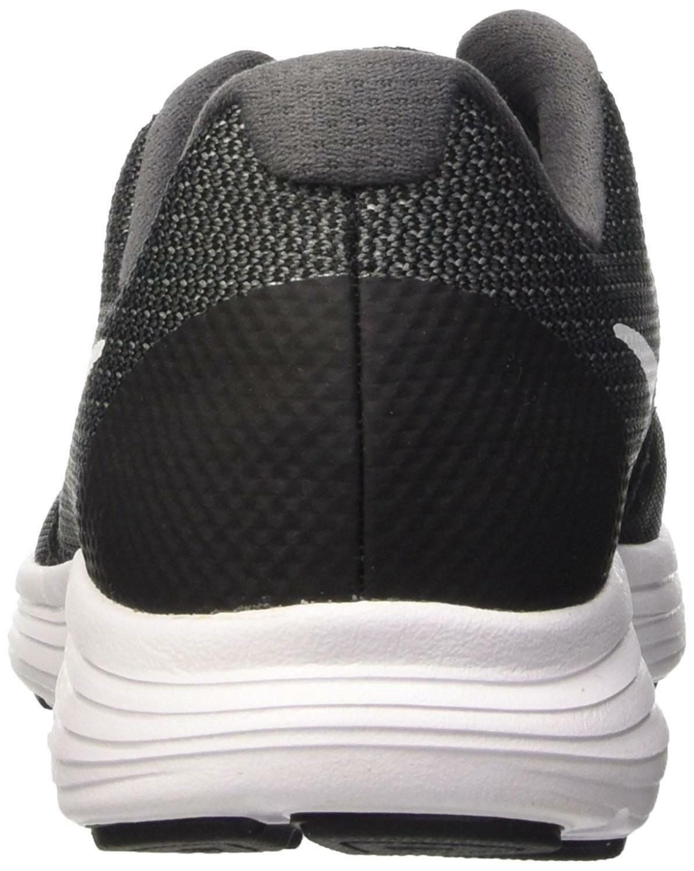 nike nike revolution 3 gs scarpe sportive bambino nere
