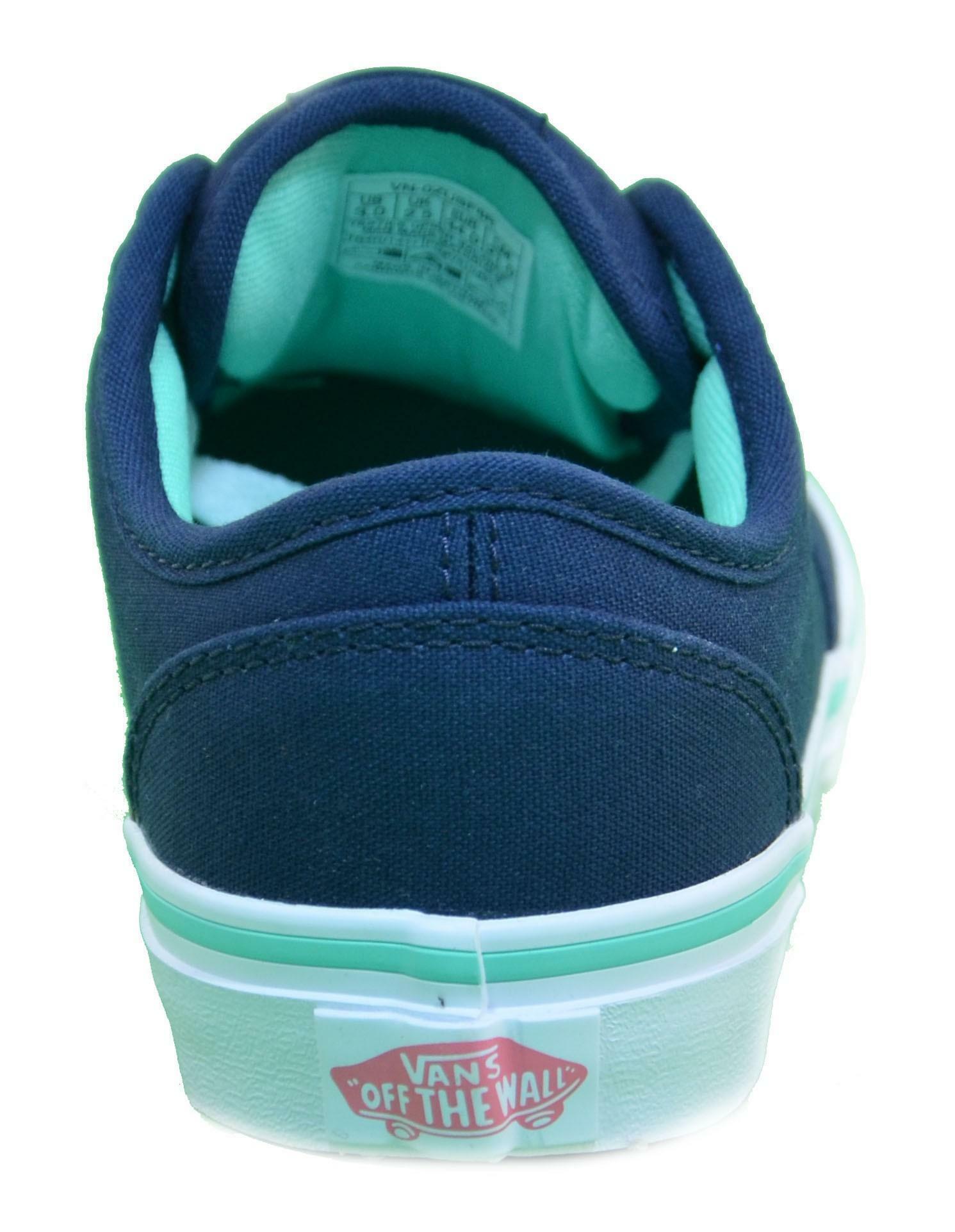 vans vans atwood scarpe bambino blu tela zusf8r
