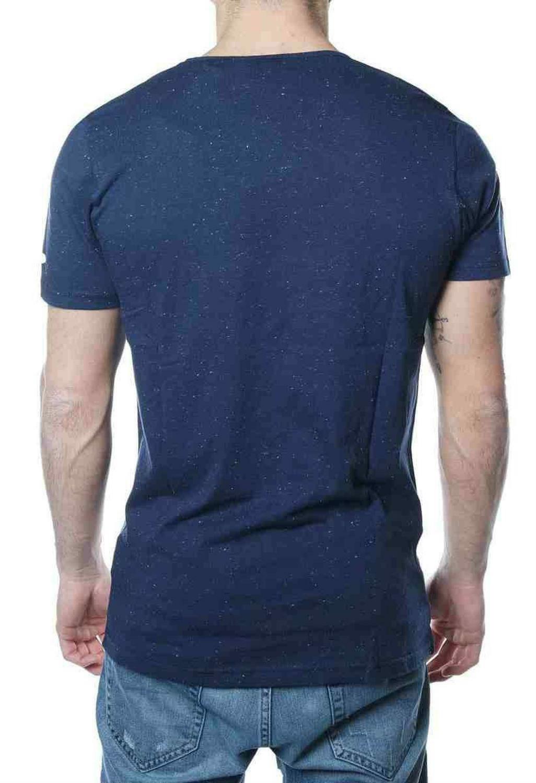 new era new era concrete ss tee t-shirt uomo blu