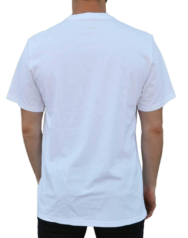 converse converse palm trees t-shirt uomo bianca 5907a03