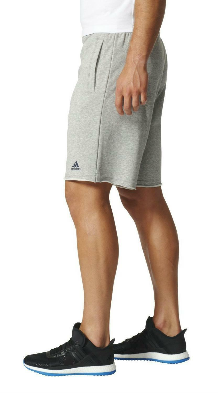 adidas adidas rh short ft pantaloncini uomo grigi