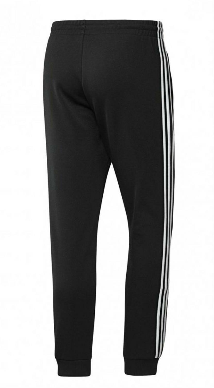 adidas adidas 3 stripes pantalone uomo nero