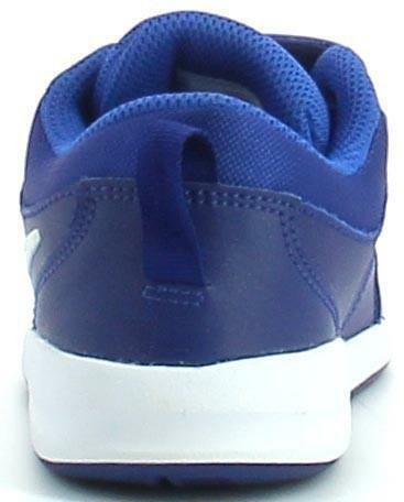 nike nike pico 4 scarpe sportive bambino blu royal pelle strappi