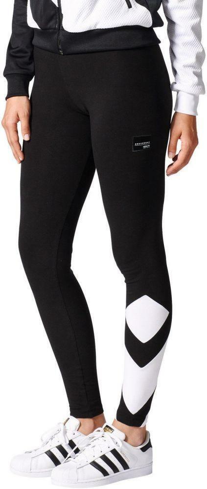 adidas adidas eqt leggings donna neri elasticizzati