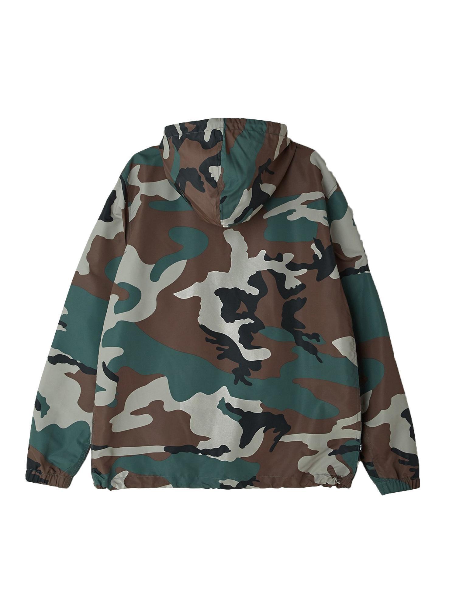 obey obey crosstown anorak giacchetto marsupio uomo militare