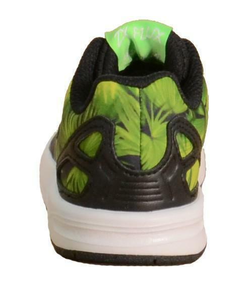 adidas adidas zx flux el i scarpe sportive bambino verdi tela s74970