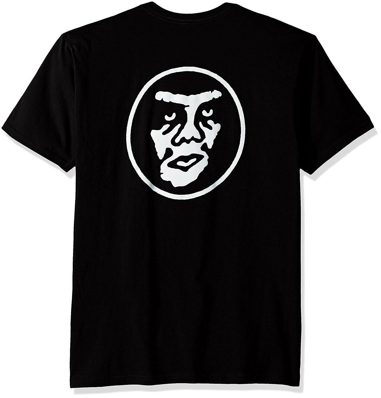 obey obey creeper circle t-shirt uomo nera 163081636