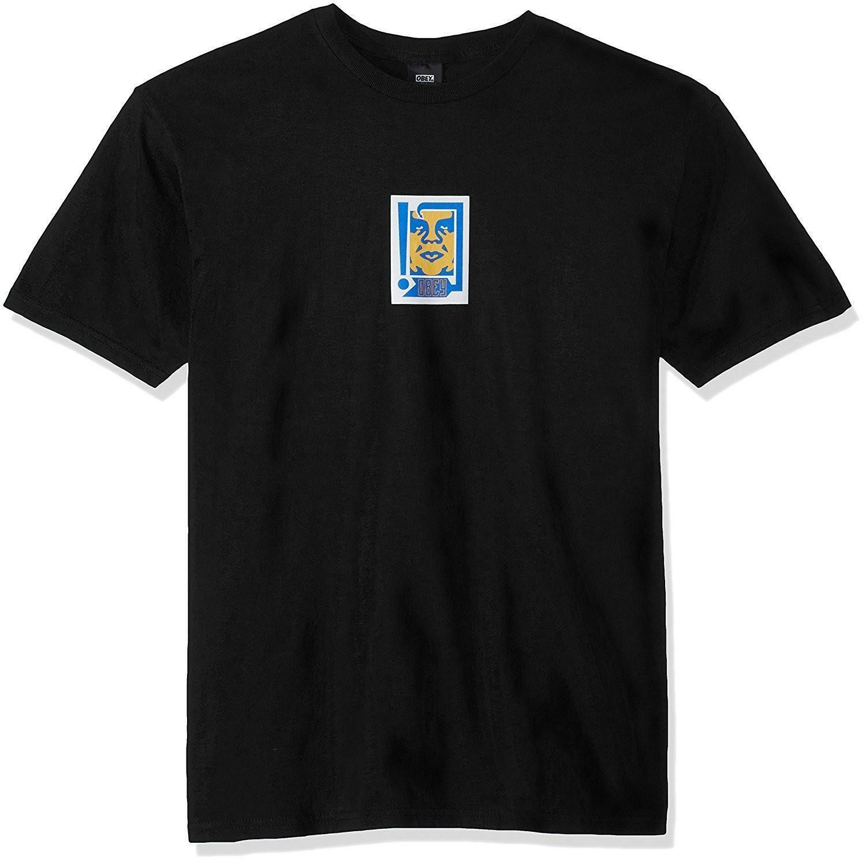obey obey arrow t-shirt uomo nera 221180175