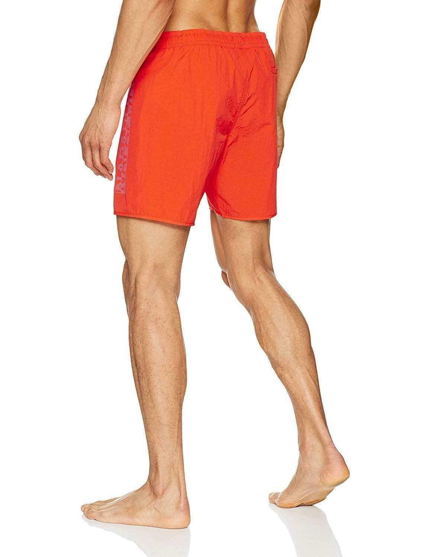 napapijri napapijri varco costume uomo arancione n0yhsta47