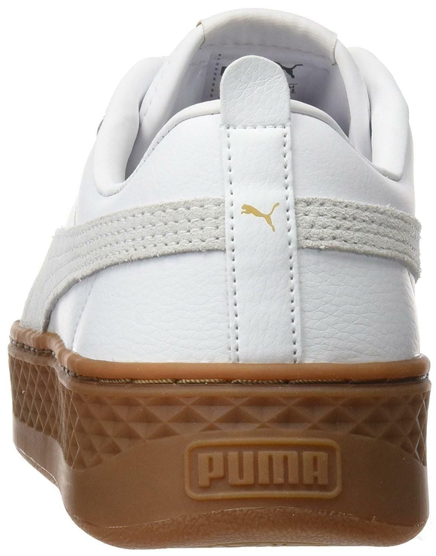 puma puma smash platform l scarpe sportive donna bianche 36648702
