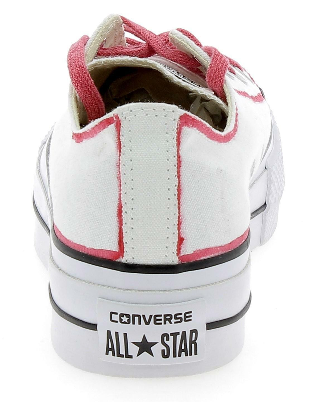 converse converse ctas lift platform scarpe sportive donna bianche 560898c