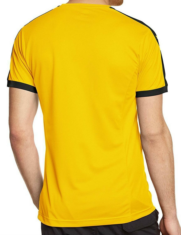 puma puma pitch team t-shirt uomo gialla 70207007
