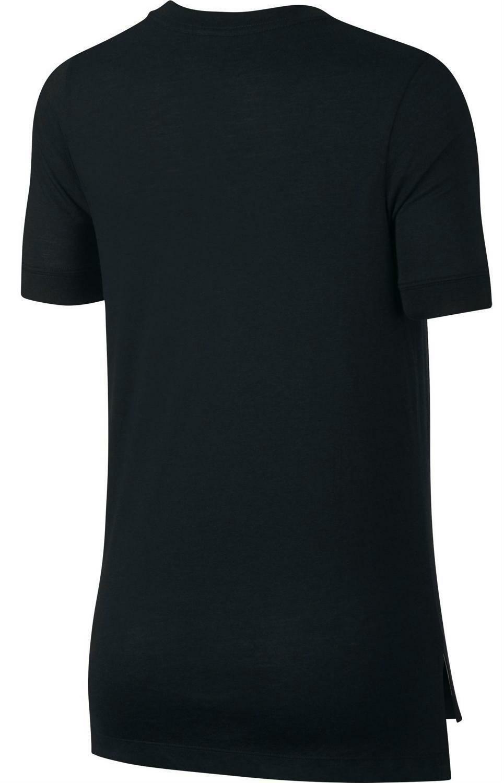 nike nike air t-shirt uomo nera 911950010