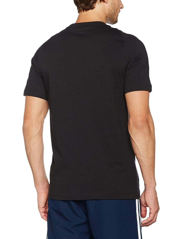 adidas adidas ess base t-shirt uomo nera