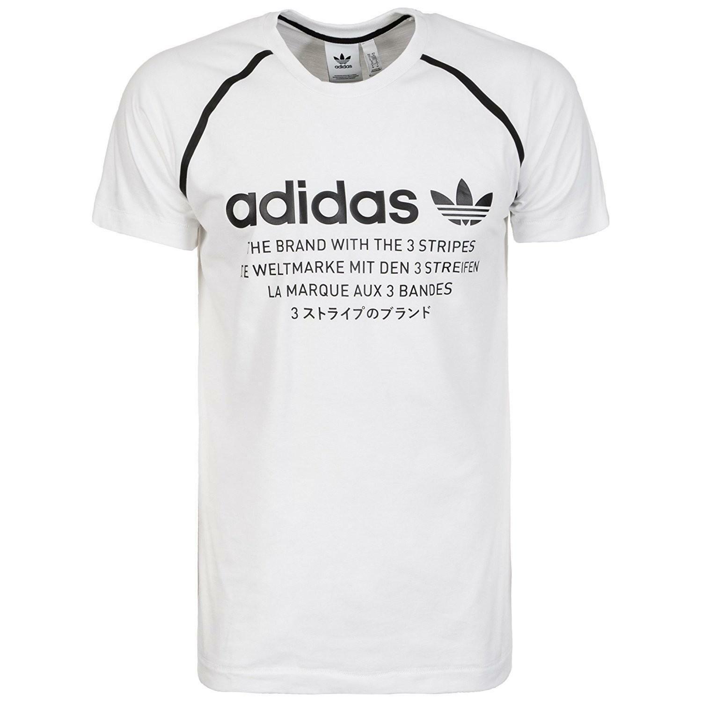 adidas adidas nmd d-tee t-shirt uomo bianca