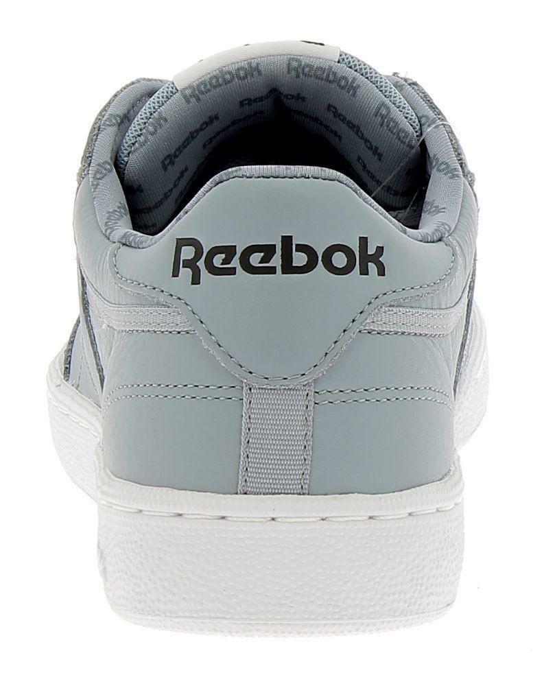reebok reebok club c 85 so scarpe sportive uomo pelle grigie