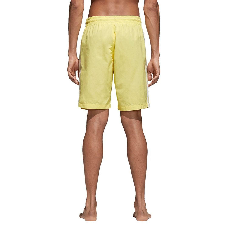 adidas adidas 3 stripes swim costume uomo giallo