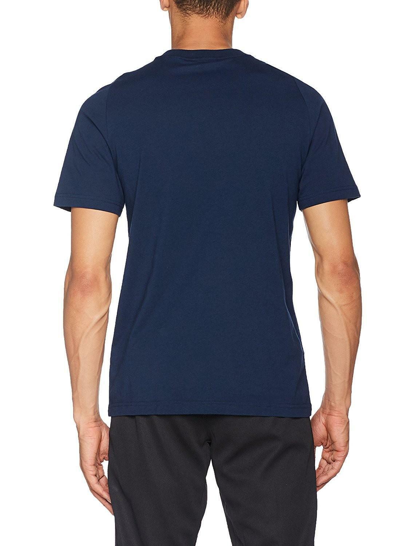 adidas adidas ess base t-shirt uomo blu s98743