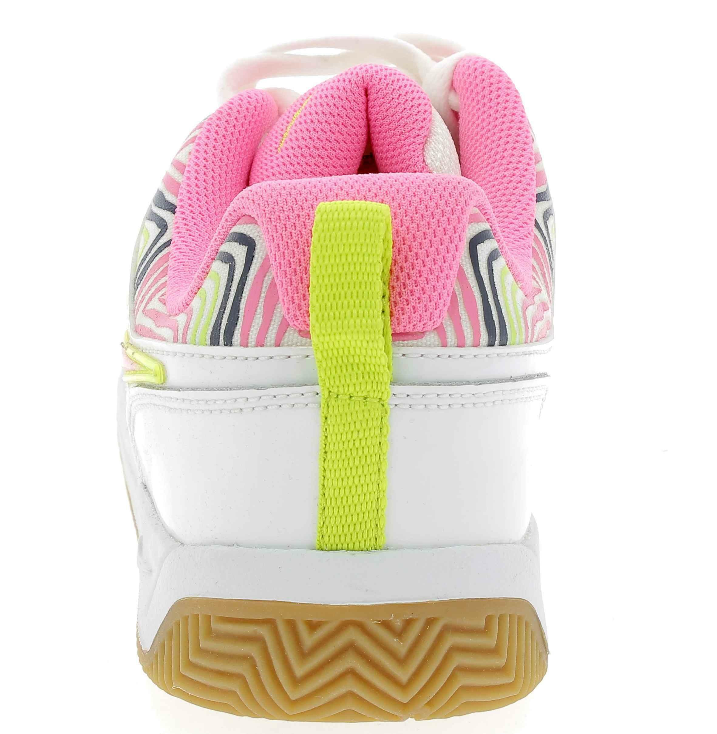 nike likin 11 scarpe sportive bambina pelle bianche