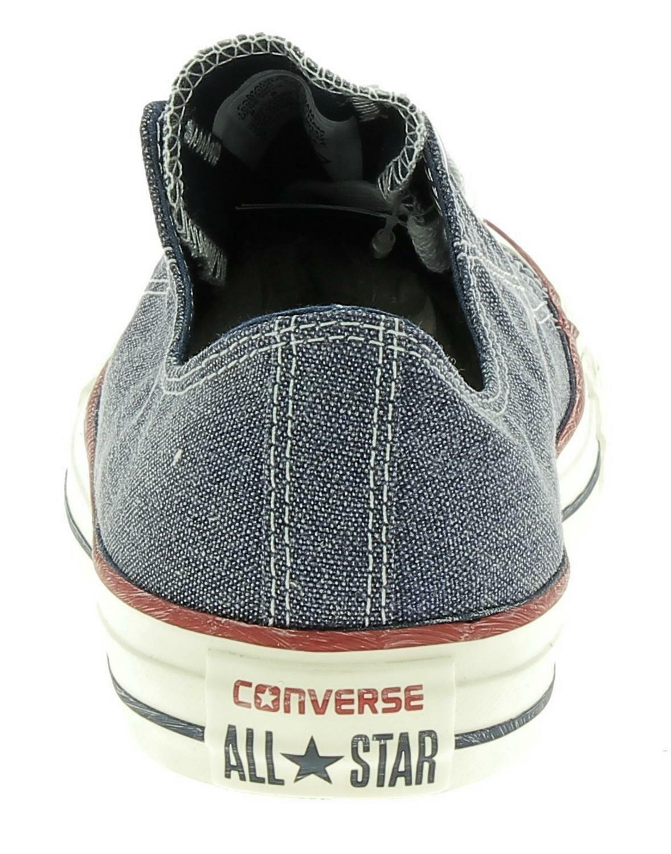 converse converse ctas ox scarpe sportive blue jeans