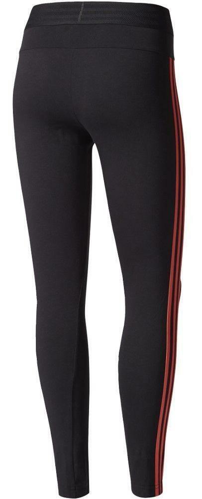 adidas adidas ess 3s tight leggings donna neri