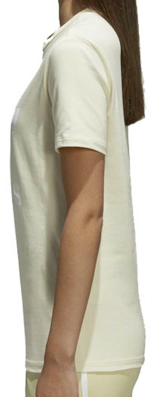 adidas originals adidas originals trefoil t-shirt donna gialla