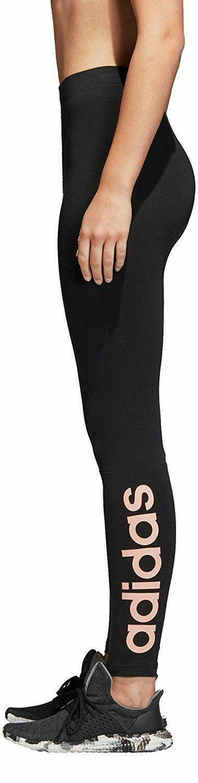 adidas adidas ess lin tight leggings donna neri di0110
