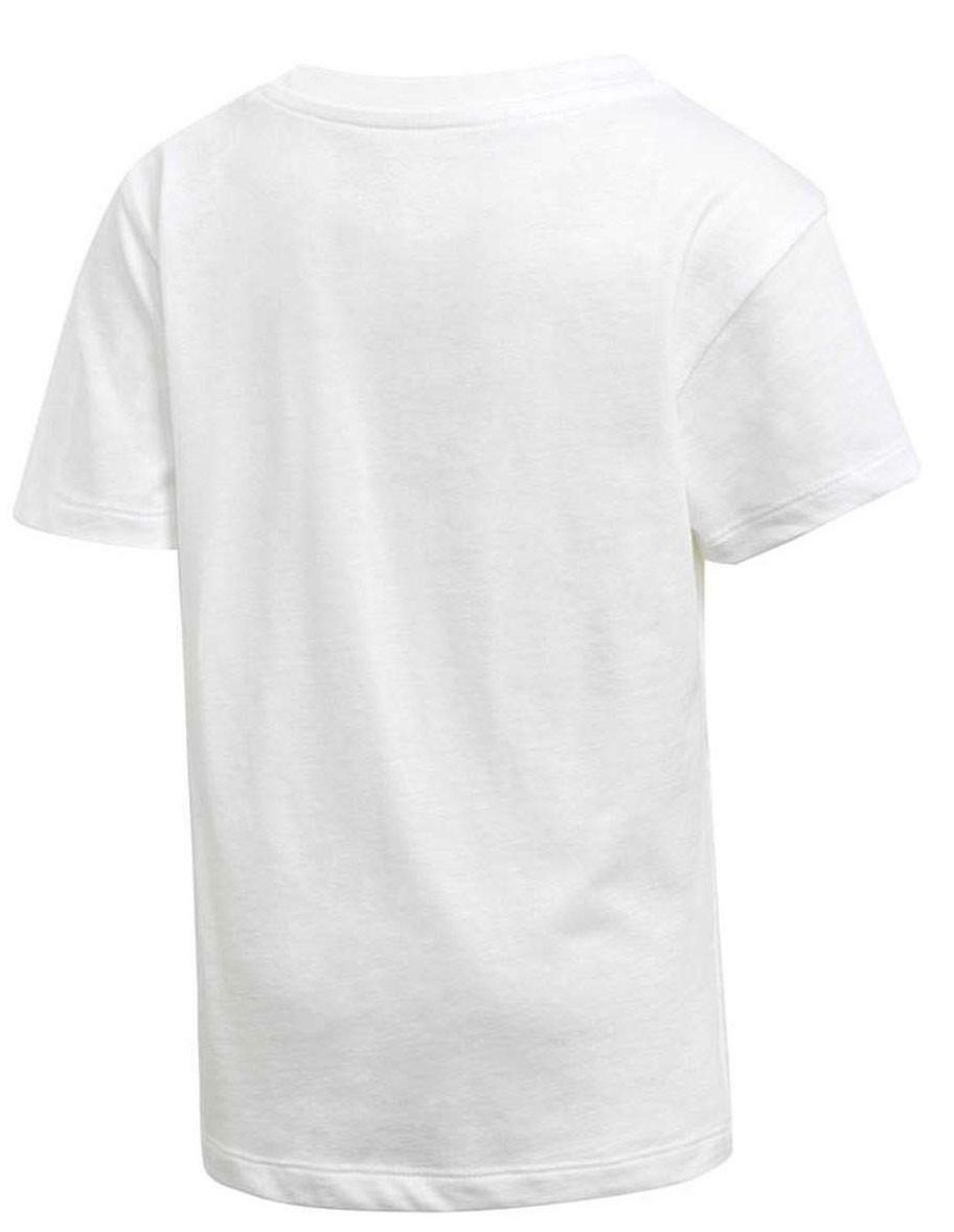 adidas adidas l trf t-shirt bambino/a bianca d98852