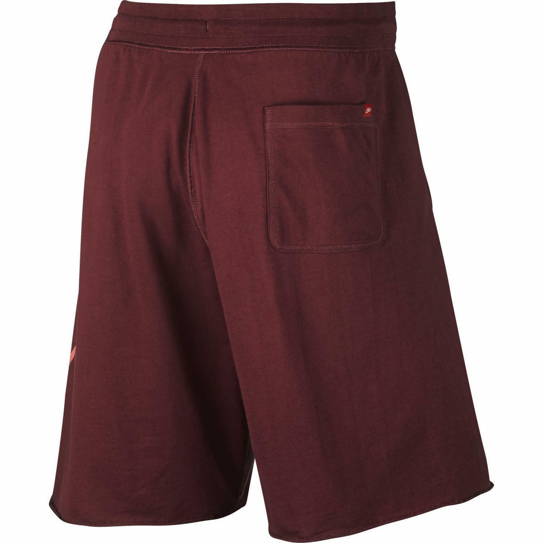 nike nike pantaloncini uomo rossi 836277678