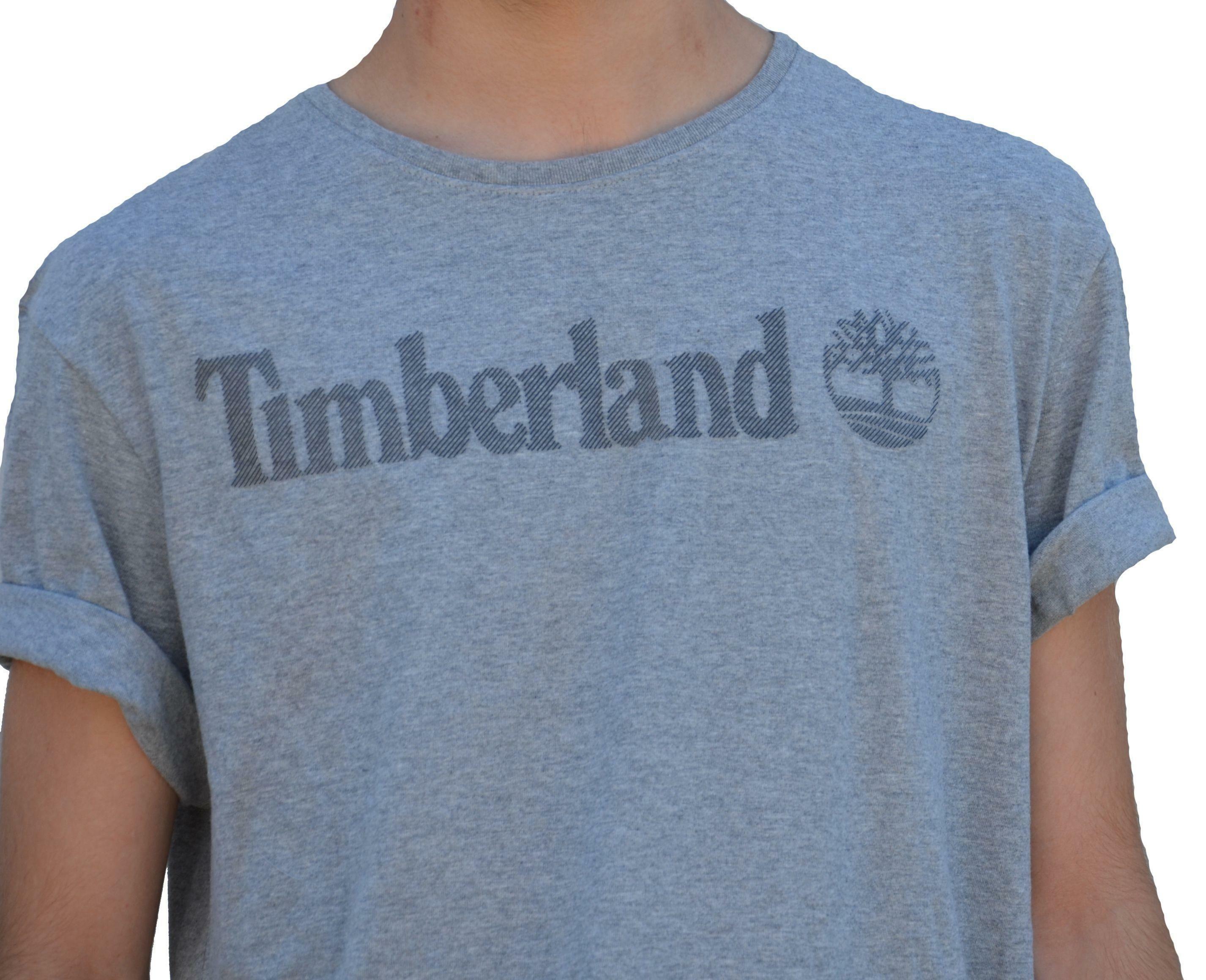 timberland timberland ss tbl t-shirt uomo grigia