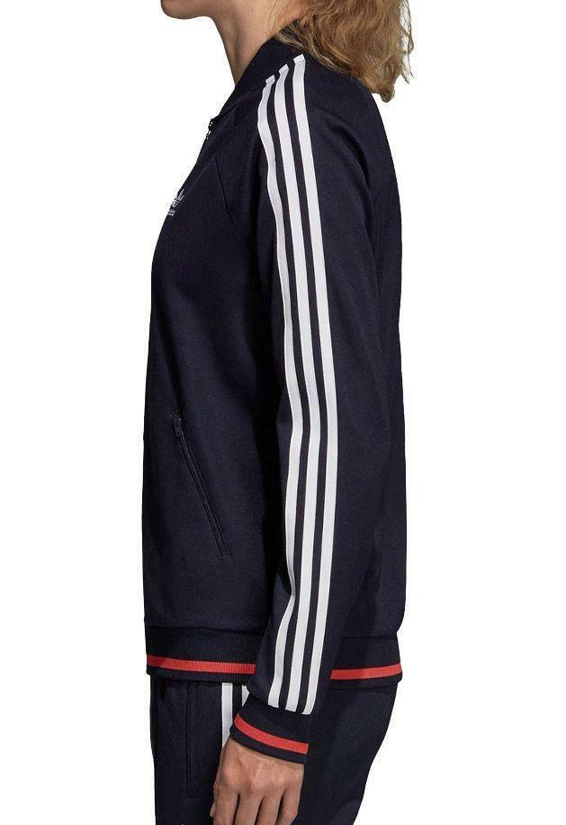 adidas adidas ai tracktop giacchetto donna blu dh2979