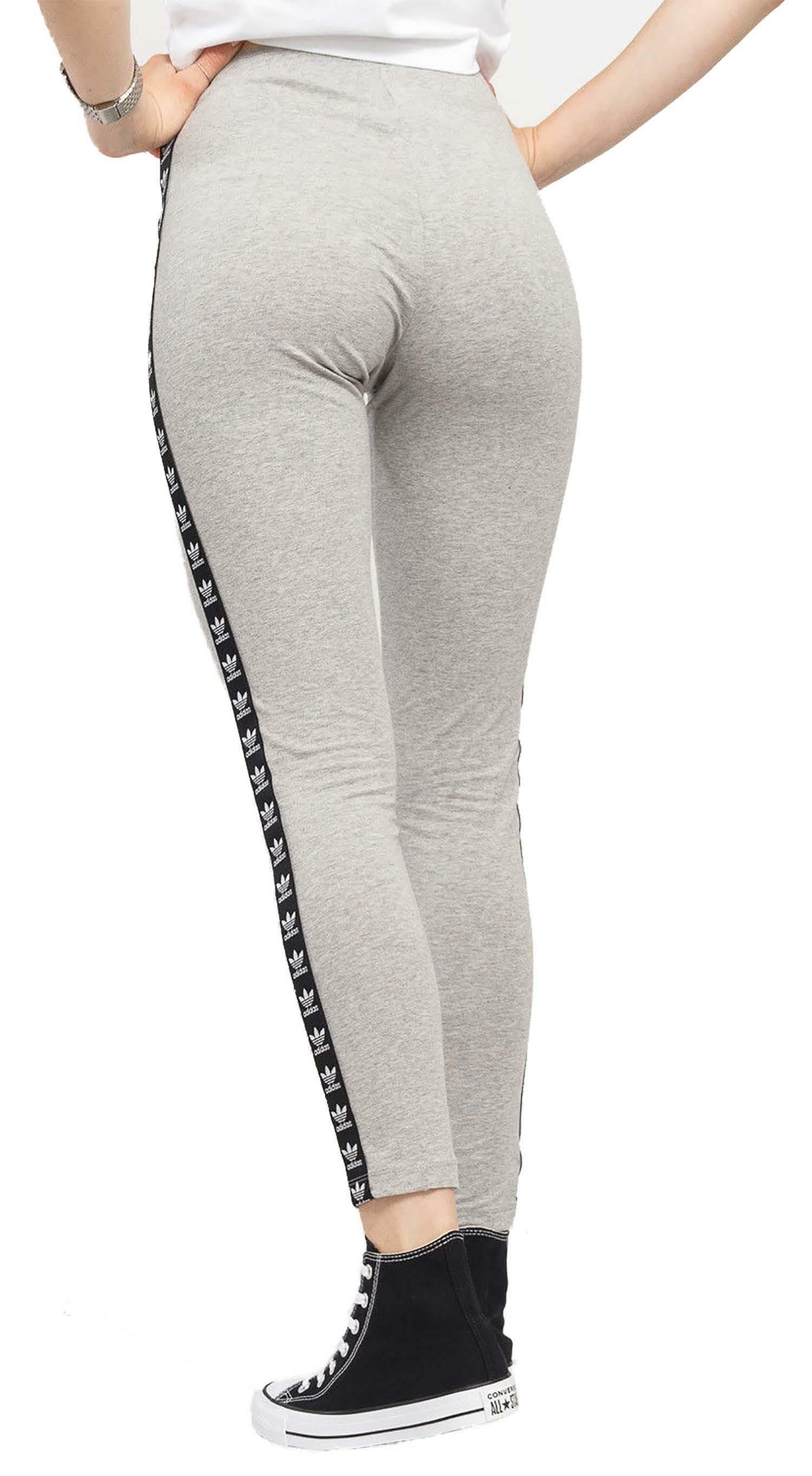 adidas adidas trf tight leggings donna grigi dn8407