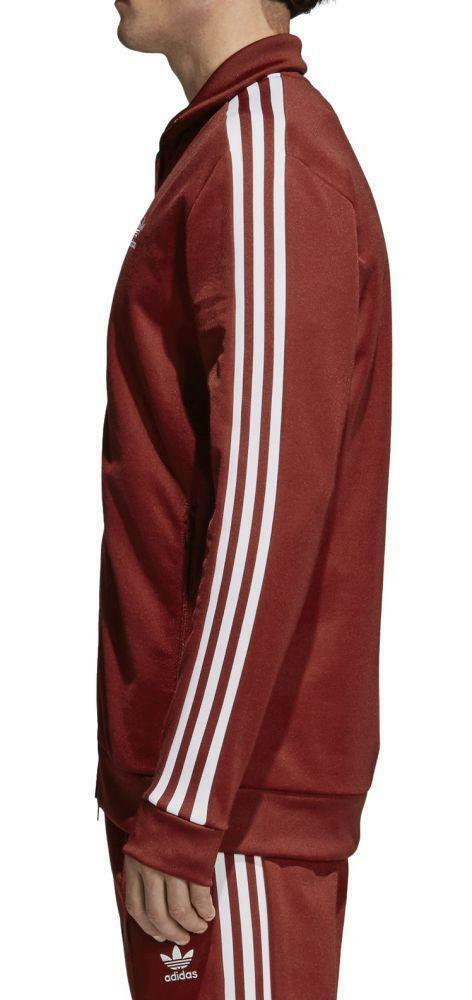 adidas adidas originals beckenbauer tt giacchetto uomo bordeaux cw1251