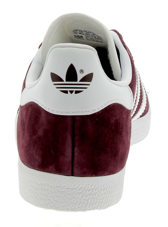 adidas adidas originals gazelle scarpe uomo sportive bordeaux